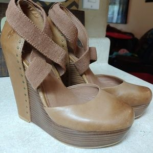 Lucky Brand Wedge Shoes